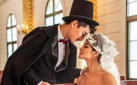 索菲亚5999元一对二 婚纱套系 电影剧情式拍摄
