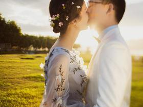 丽江拉市海婚纱照