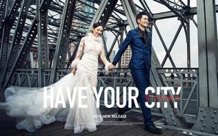 【时尚芭莎】城市微旅拍夜上海套系 10服10造
