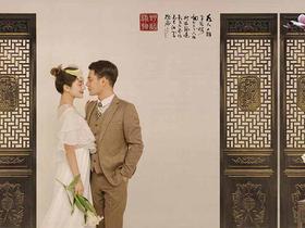【文艺中国风】第八高端  工笔画风系列婚纱照
