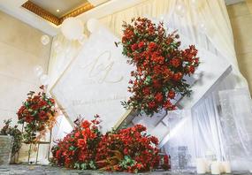 婚礼爆款——大理石纹,简约,简洁/别样红