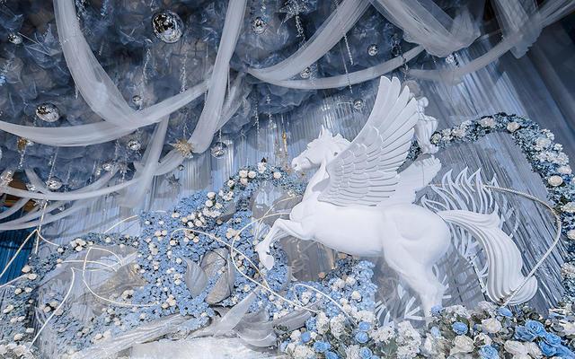 《以梦为马》--- 冰蓝主题婚礼