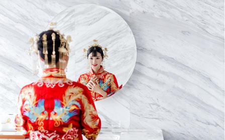 丁宁本人婚礼时尚摄影跟拍