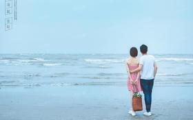 珠海非常婚礼客片—浪漫海边婚纱照