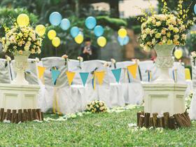 『婚礼管家』阳光邂逅鲜花升级套系 公主卡通系婚礼布置