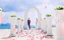 【小情旅•三亚】唯美童话婚纱照系列,小情旅为你记录幸福!