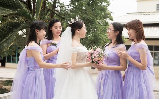 艾米丽新娘跟妆客片案例分享