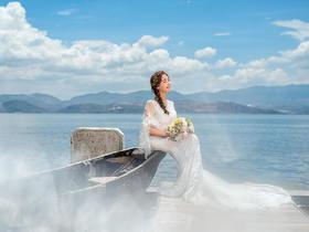 云南大理古都新影最文艺浪漫婚纱照/I DO国际婚纱摄影。
