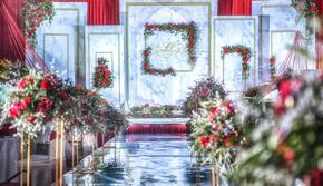 金喜汇国际婚礼策划—【红色大理石】
