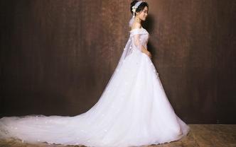 【限时特惠】3件套婚纱租赁全款送免费伴娘服租赁