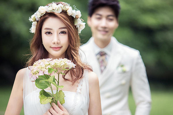 韩式--小清新风婚纱照