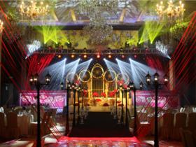 【喜薇庭】玫瑰红教堂欧式风格婚礼——玫瑰教堂