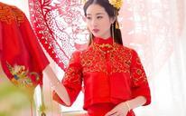 【美一点】轻中式婚纱礼服,古之韵,5折特惠礼服