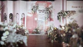 『花间辞』甜粉色大理石水彩系套餐·描&彩
