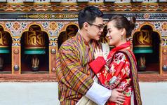 不丹高僧祈福婚礼,乐惟重庆海外婚礼旅拍