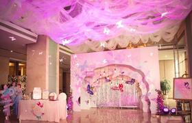 蝴蝶主题的唯美梦幻风婚礼