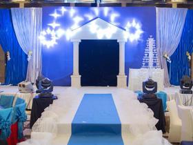 〖七月特惠〗-蓝色海洋婚礼风-『含四大金刚+婚纱照』