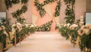 流行主打【梦幻季】PANTONE珊瑚橙色主题婚礼