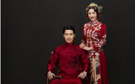 【锦绣情缘系列|秀禾服】经典时尚中国风