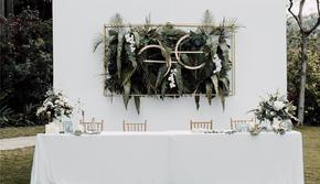 【桔梗の恋】户外小清新婚礼—好百年婚礼中心