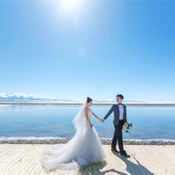 全球旅拍·博乐赛里木湖+伊犁果子沟大桥+图开沙漠