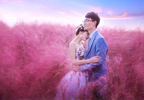 梦幻庄园|花海预售8服8造+送定制对戒结婚证件照