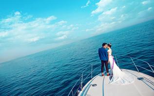 【玛索旅拍高端婚纱新开户送彩金网站大全】--青岛旅拍 含游艇套餐
