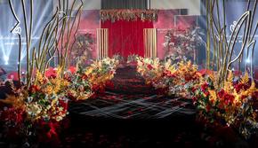 【套餐款】布置全包=花艺+舞台+T台+迎宾区