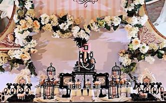 1V1婚礼甜品台设计(风格套餐B)