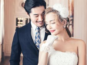 FLOWER欧式婚纱照- 白色恋人