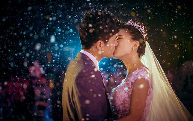 拾间婚礼摄影-一花一世界,一人一心思