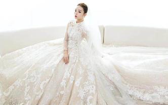 【设计师专款】气质少女主纱+显瘦秀禾+显白礼服