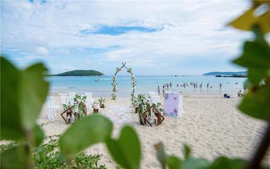 【糖果海外婚礼】三亚   沙滩婚礼