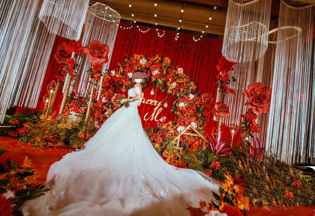 《恋》觅遇/红白色奢华韩风婚礼