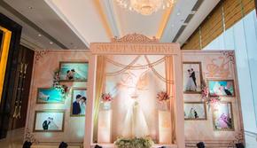 【特惠套餐】婚礼现场布置+专业人员+婚纱礼服