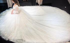 婚纱,本身就是一场美梦......