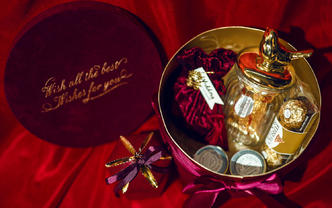 红丝绒礼盒--嘉期伴手礼