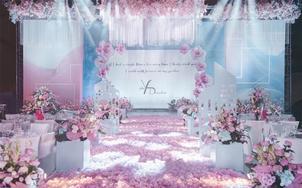 【UM婚礼】粉嫩少女 设计元素满分 包含四大金刚