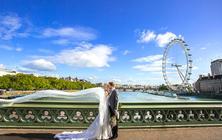 穿着婚纱照去旅行—【英国伦敦】