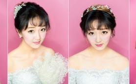 斯芭达妞新娘日韩美妆造2016年婚礼跟妆套系