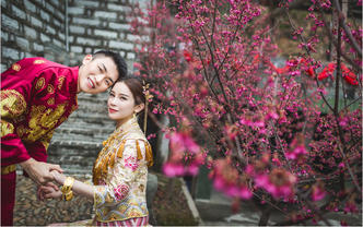 冯子玲新娘造型—高级造型师福州市区全日跟妆