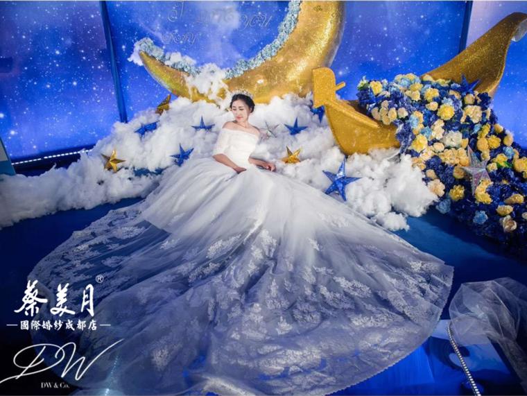 【台湾蔡美月】唯美婚纱超值租赁