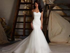 新娘唯美婚纱 (全新出售仅1件·特价)高端定制鱼尾款
