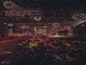 《旖旎》红色复古宫廷创意婚礼