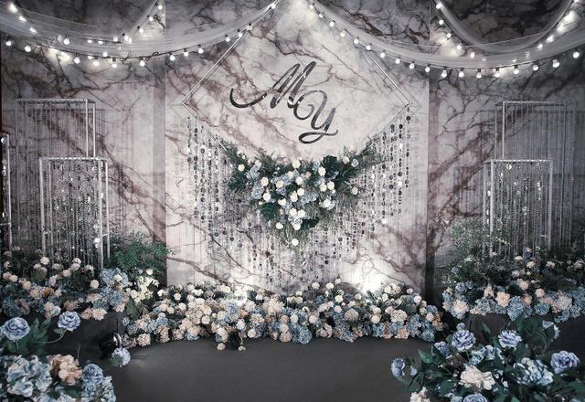 【婚礼那点事】冷色魅蕾主题婚礼