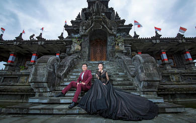 爱旅拍巴厘岛•客照欣赏•博物馆