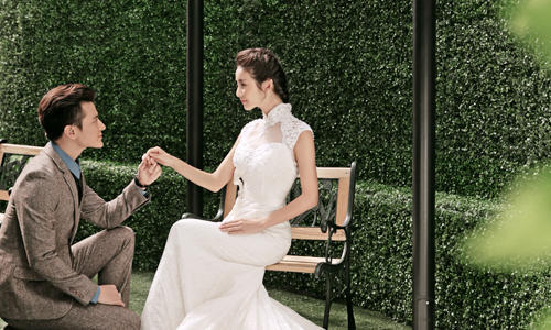 玛莎莉莉#旅游婚纱##深圳婚纱摄影#韩式室内