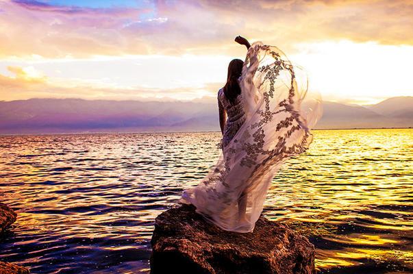 画艺视觉 大理 神仙半岛(礁石) 婚纱照