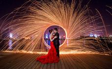 青岛之约 浪漫自由行 豪华游艇 璀璨夜景