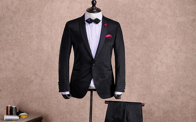 男士经典结婚西服礼服款式